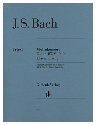 D2 6 Suites Arranged For Violin By Ebner Music Score JS Bach