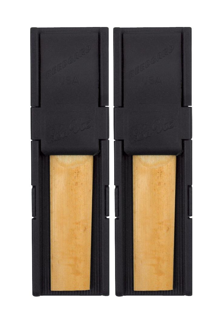 Rico Reed Gard II, Clarinet/Alto Sax, 2-pack, Black