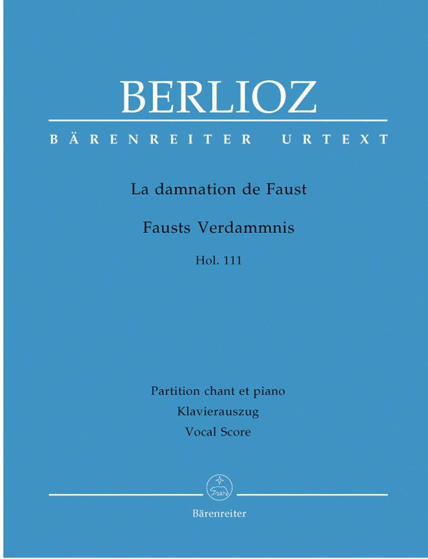 Damnation of Faust (F) (Urtext).