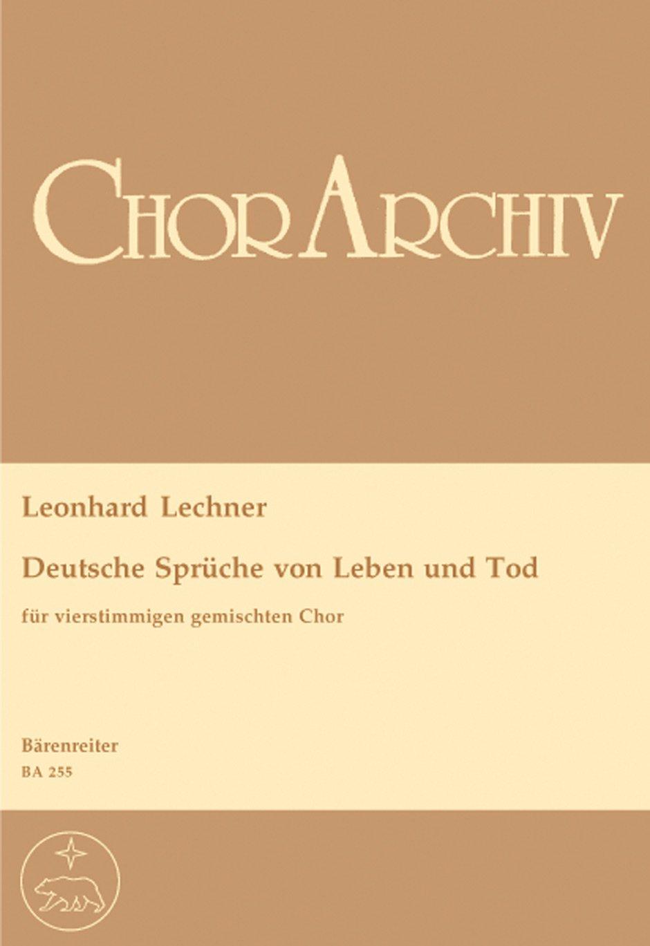 Deutsche Sprueche Von Leben Und Tod Urtext