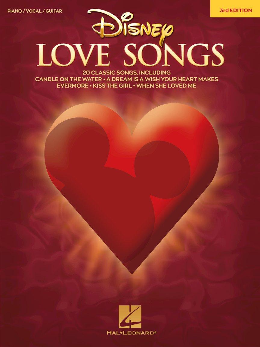 Disney Love Songs PVG 3rd Edition