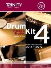 Drum Kit 4 (Grades 7 & 8) with CD 2014-2019