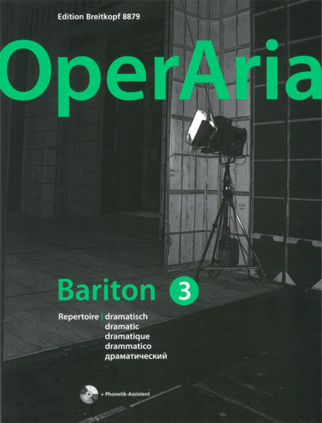 OperAria Baritone 3:dramatic