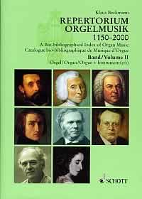 A Bio-bibliographical Index of Organ Music Band 2: Orgel plus Instrument(e) - Composers - Works - Editions. 57 Countries