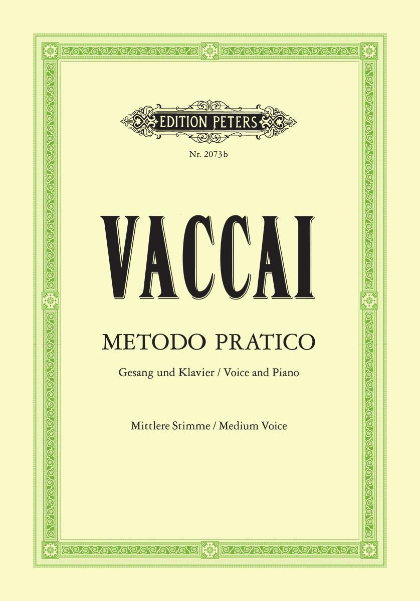 Metodo Pratico di Canto Medium Voice