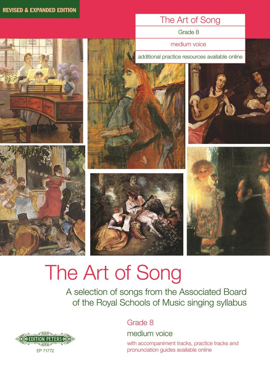 A selection of songs from the ABRSM syllabus