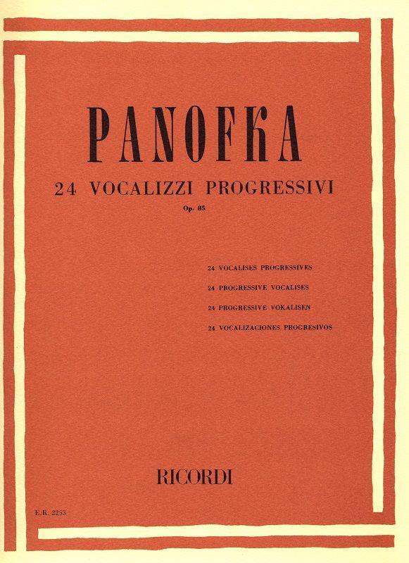 24 Vocalizzi Progressivi Opus 85