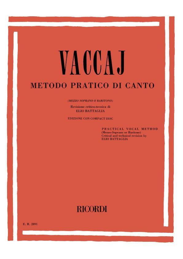Metodo Pratico di Canto Mezzo/Baritone