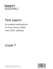 Trinity Past Papers: Theory of Music (2009) Gd 7