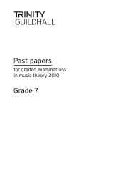 Trinity Past Papers: Theory of Music (2010) Gd 7