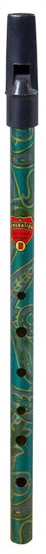 Flageolet Boho 'Generation D' Whistle - Paisley Green