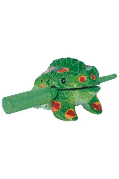 Frog Scraper, Small Green varnish finish
