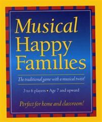 Music Games: Quartet Happy Families