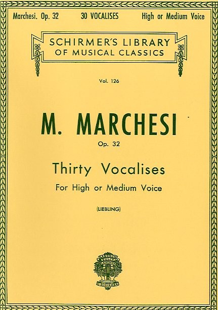 Thirty Vocalises Op. 32