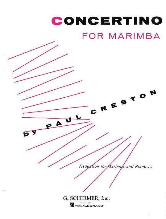 Concertino For Marimba And Orchestra