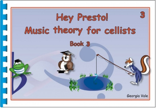 Hey Presto Music Theory for Cellists Book 3