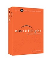 Noteflight 5 Year Subscription Box