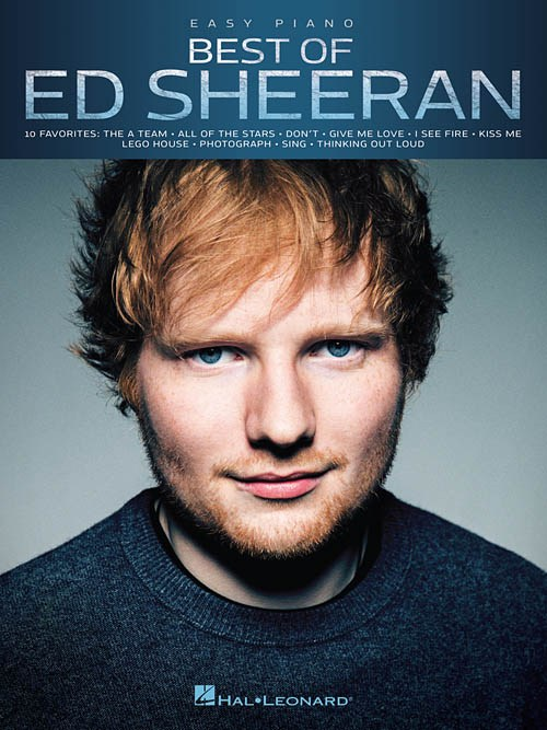 Best of Ed Sheeran for Easy Piano