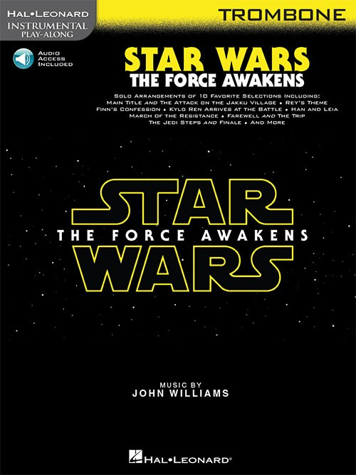 Star Wars The Force Awakens Instrumental Play-Along