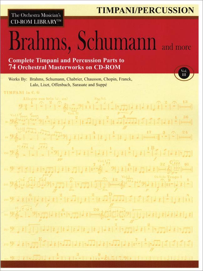 Brahms, Schumann & More - Volume 3