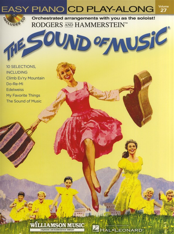 Easy Piano CD Play-Along Volume 27: The Sound Of Music