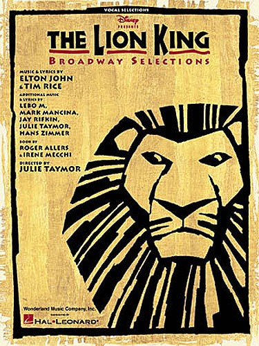 The Lion King- Broadway Selections