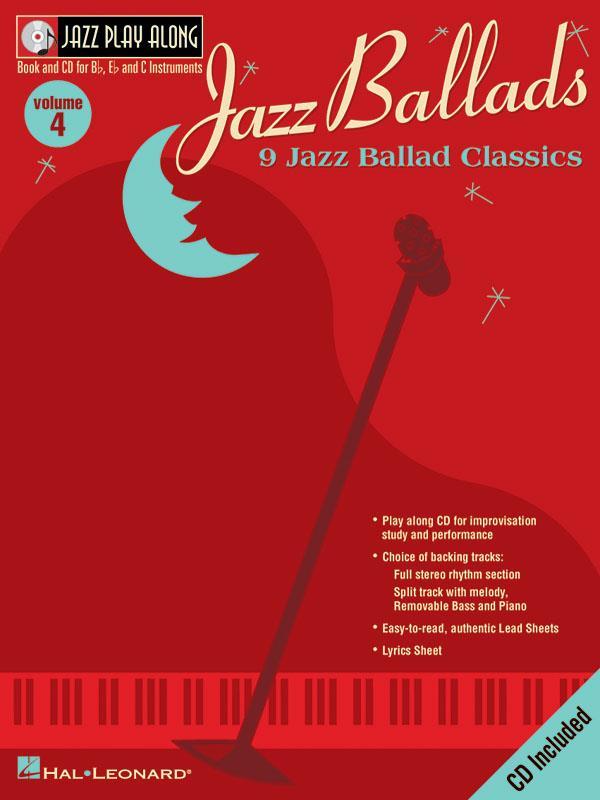 Jazz Ballads: Jazz Play-Along Volume 4