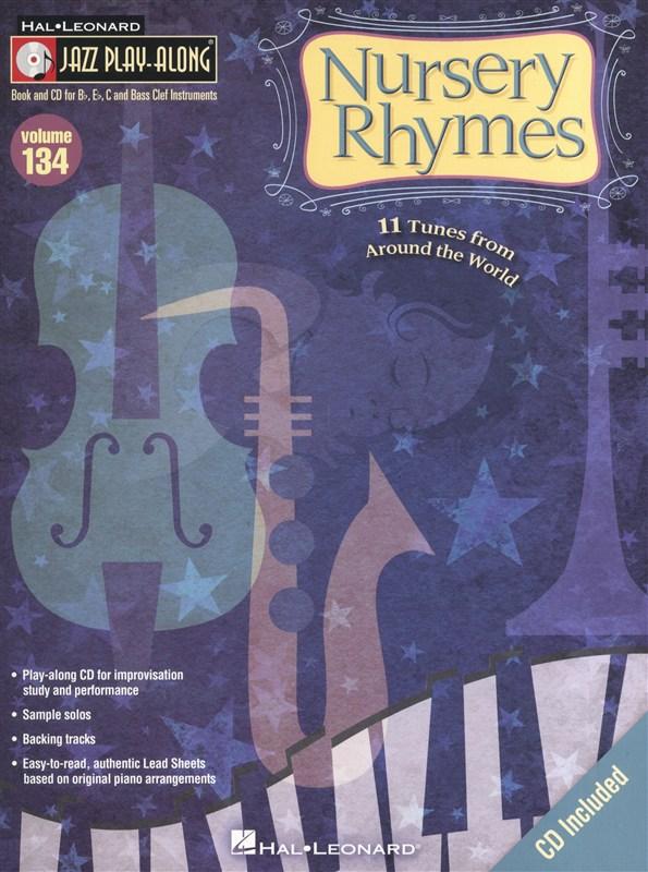 Jazz Play-Along Volume 134: Nursery Rhymes