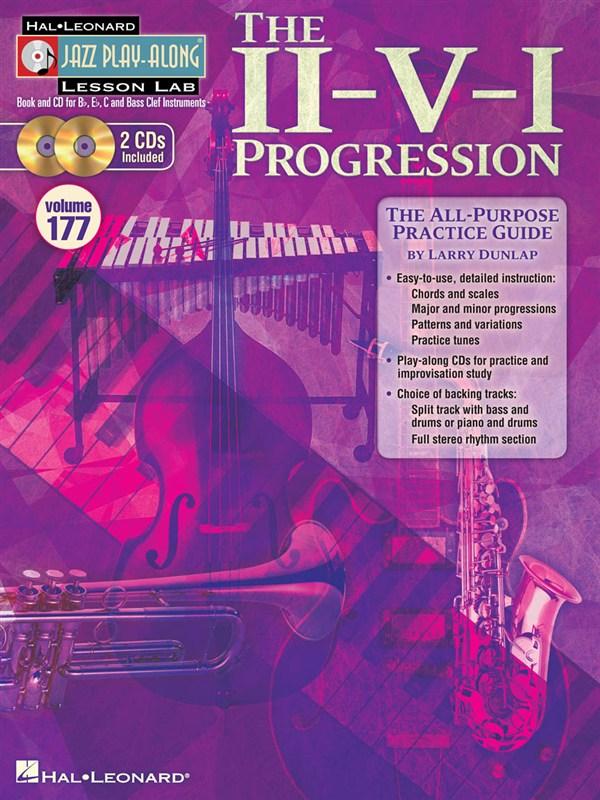 The II-V-I Progression - Jazz Play-Along Lesson Lab (Volume 177)