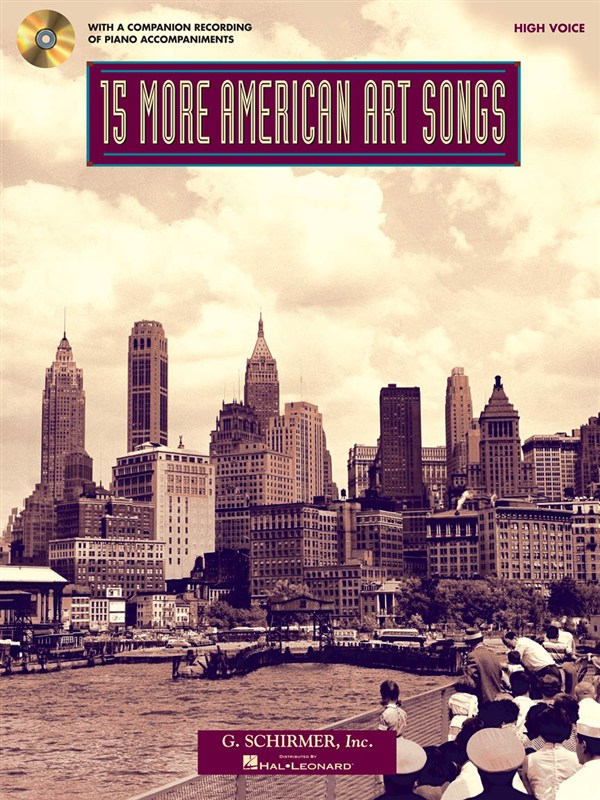 15 More American Art Songs (High Voice)
