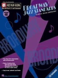Jazz Play-Along Volume 46: Broadway Jazz Standards