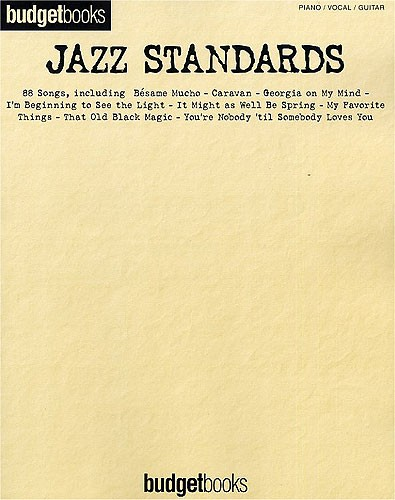 Budgetbooks: Jazz Standards