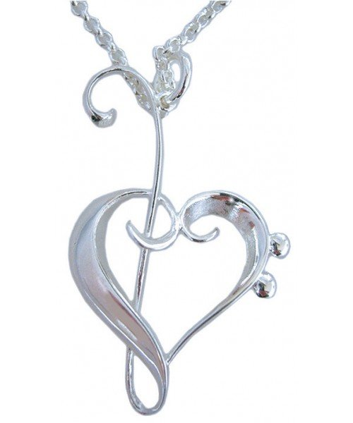 Heart of Clefs Pendant