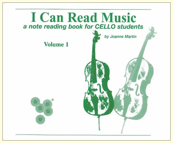 I Can Read Music Cello Volume 1