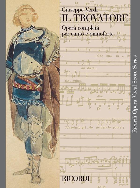 Il Trovatore - Vocal Score (Italian)