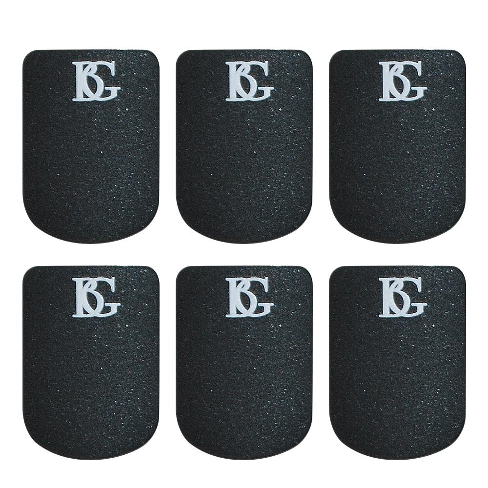 Bg Mouthpiece Cushion Sax And Clar - Black - Small - 0.8Mm Pk 6