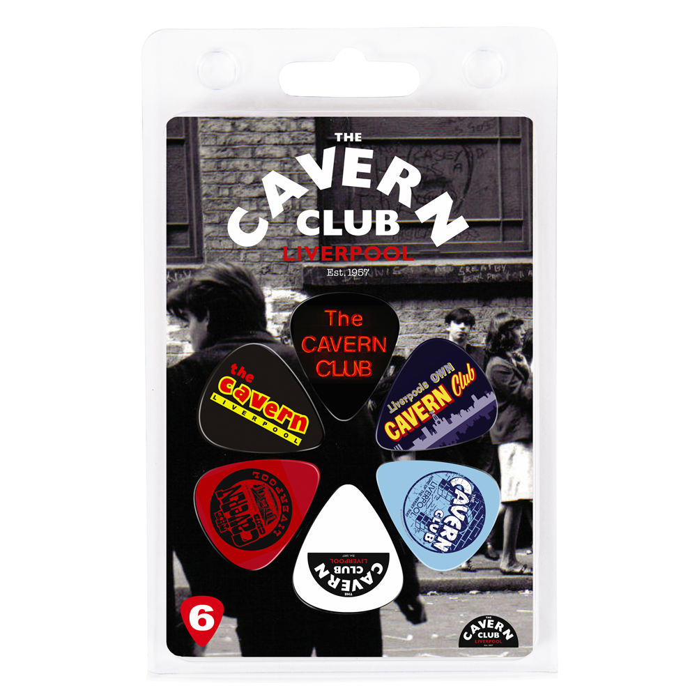 Cavern Club Logos Picks - 6 Pack