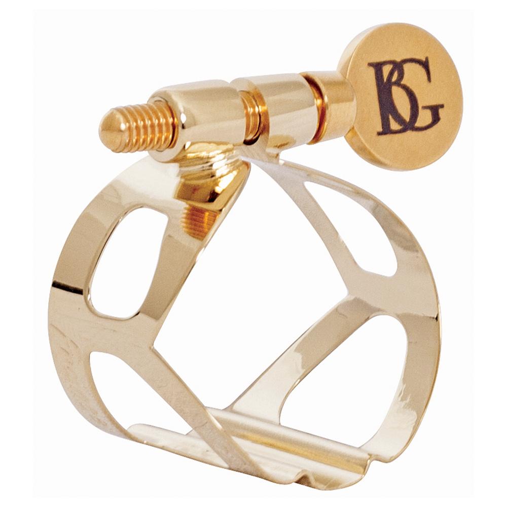 Bg Tenor Sax Ligature - Tradition - Gold Lacquered