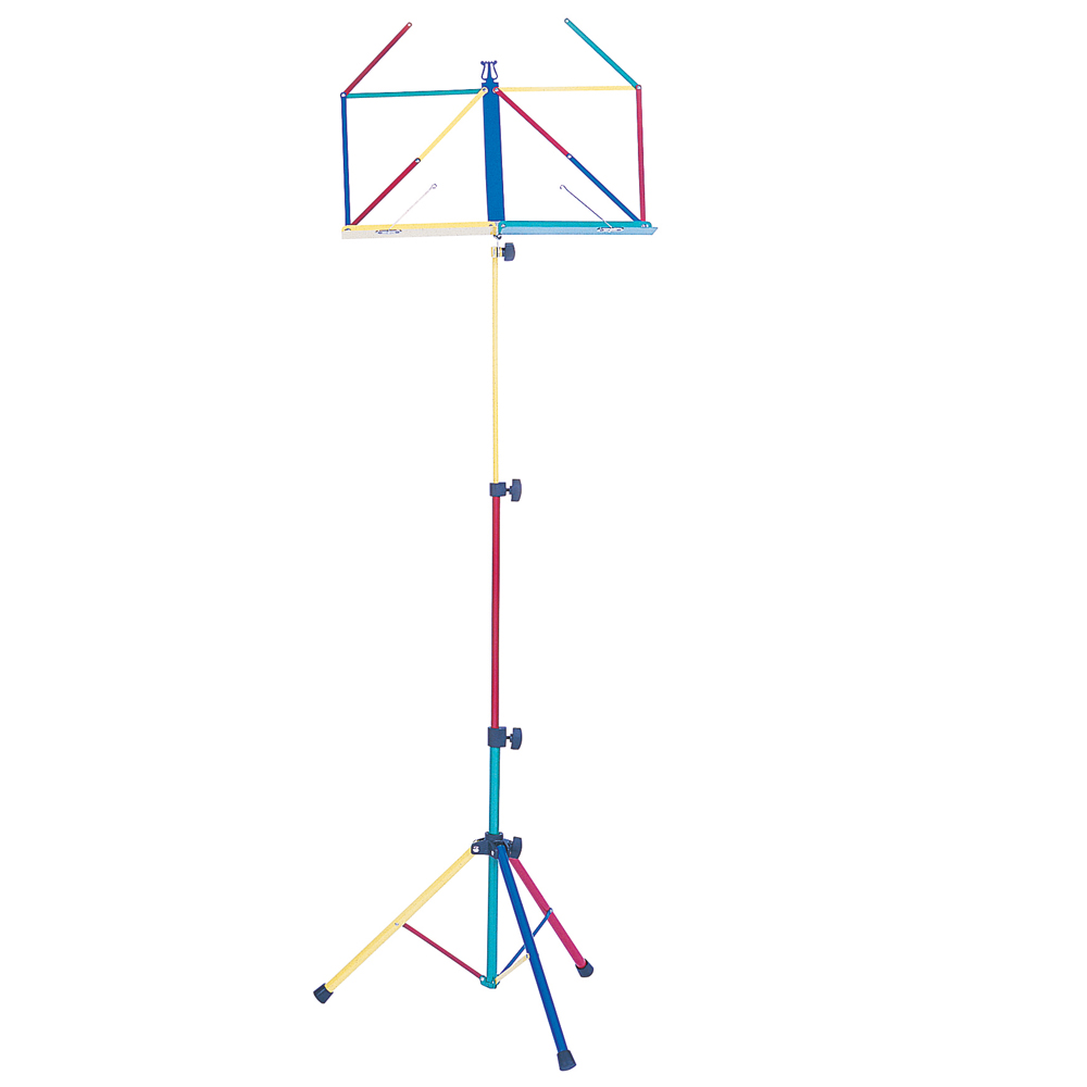 Kinsman Deluxe Music Stand And Bag- Multicolour