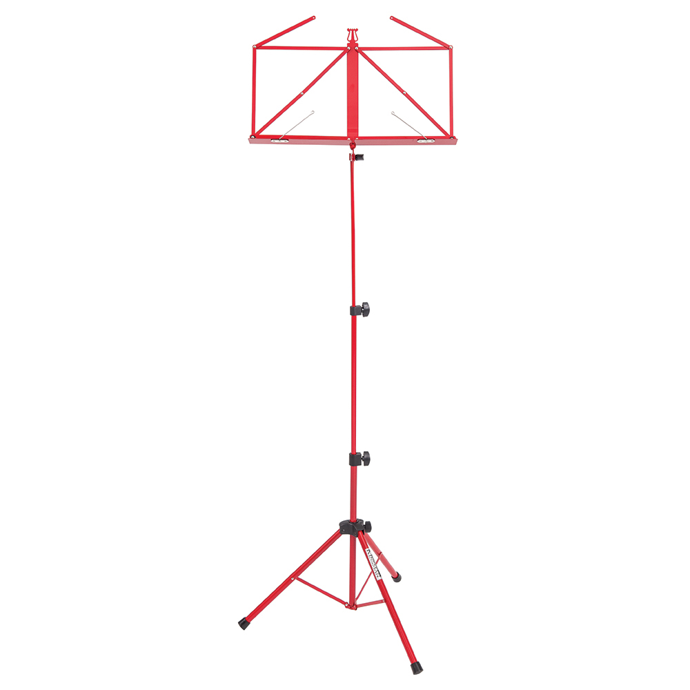 Kinsman Deluxe Music Stand And Bag- Red