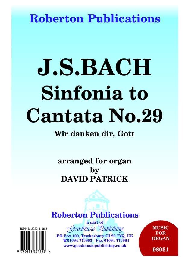Johann Sebastian Bach - Sinfonia To Cantata No.29 (Organ solo)