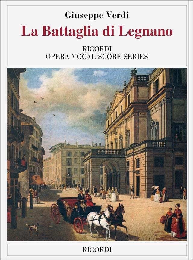 La Battaglia Di Legnano - Vocal Score (Italian)