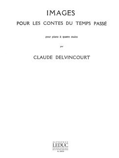 No.6 from Images Pour Les Contes du Temps Passe - Piano Duet Four Hands