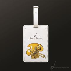 Luggage Tag Brass Section