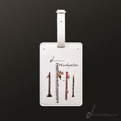 Luggage Tag Woodpecker