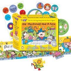 Music For Kids: Jingle Puzzle - Old MacDonald Had A Farm