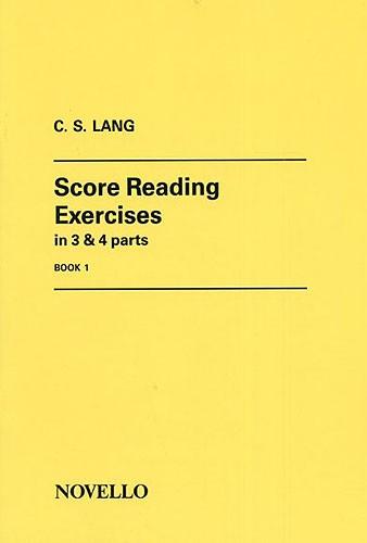 Score Reading Exercises Book 1
