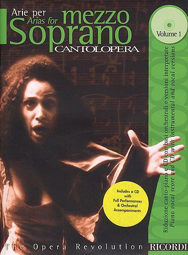 Cantolopera: Arias For Mezzosoprano + Cd
