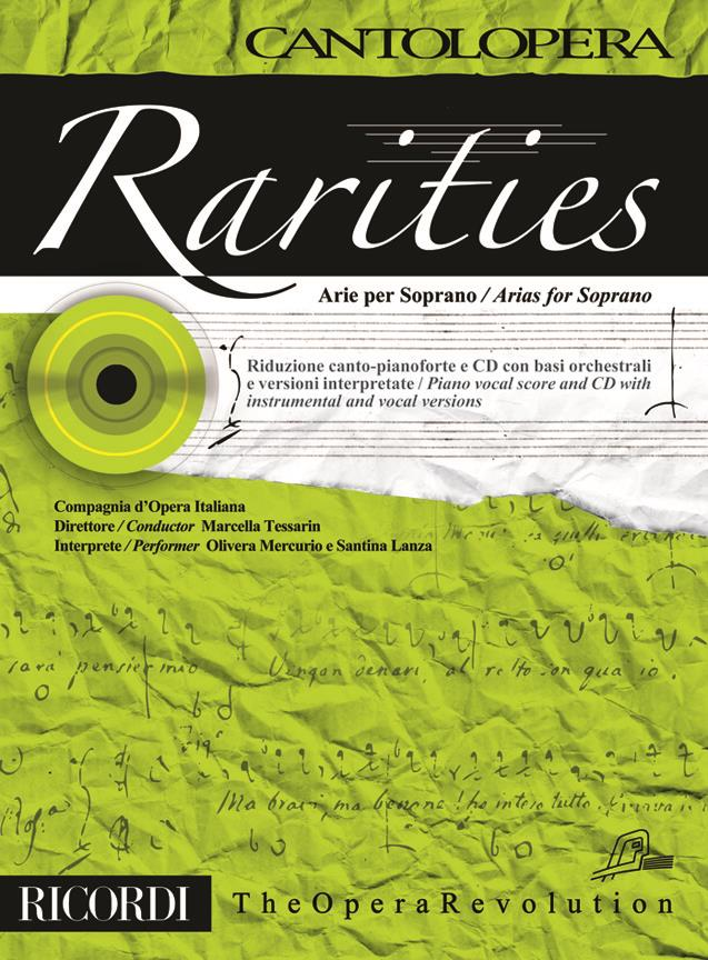 Cantolopera: Rarities - Arie Per Soprano