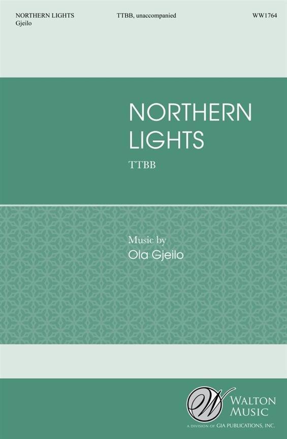 Northern Lights - vocal score